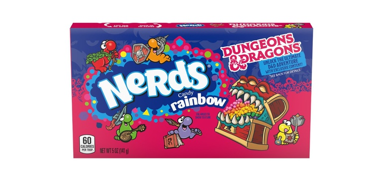 Nerds packaging unlocks candy-themed Dungeons & Dragons adventure