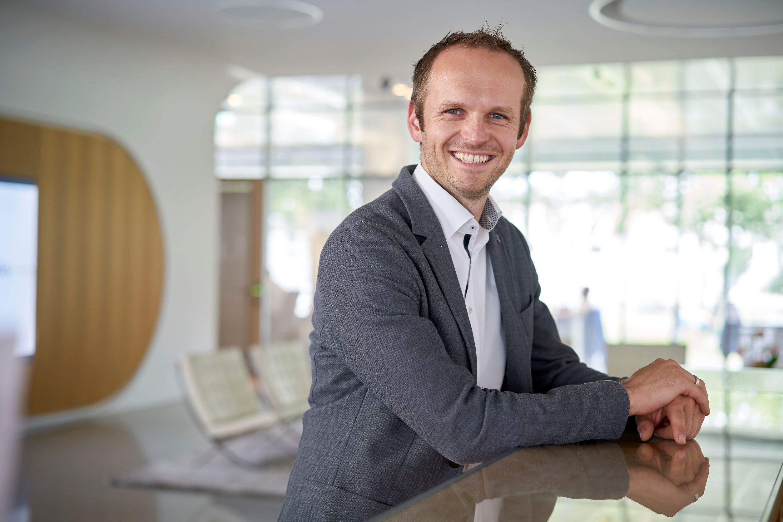Generation change: Dr. Paul Walach becomes Managing Director of Reifenhäuser Cast Sheet Coating