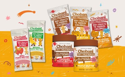 Chobani Enters the Peanut Butter Aisle with Launch of Chobani Ends Child Hunger Peanut Butter Flavored Spreads