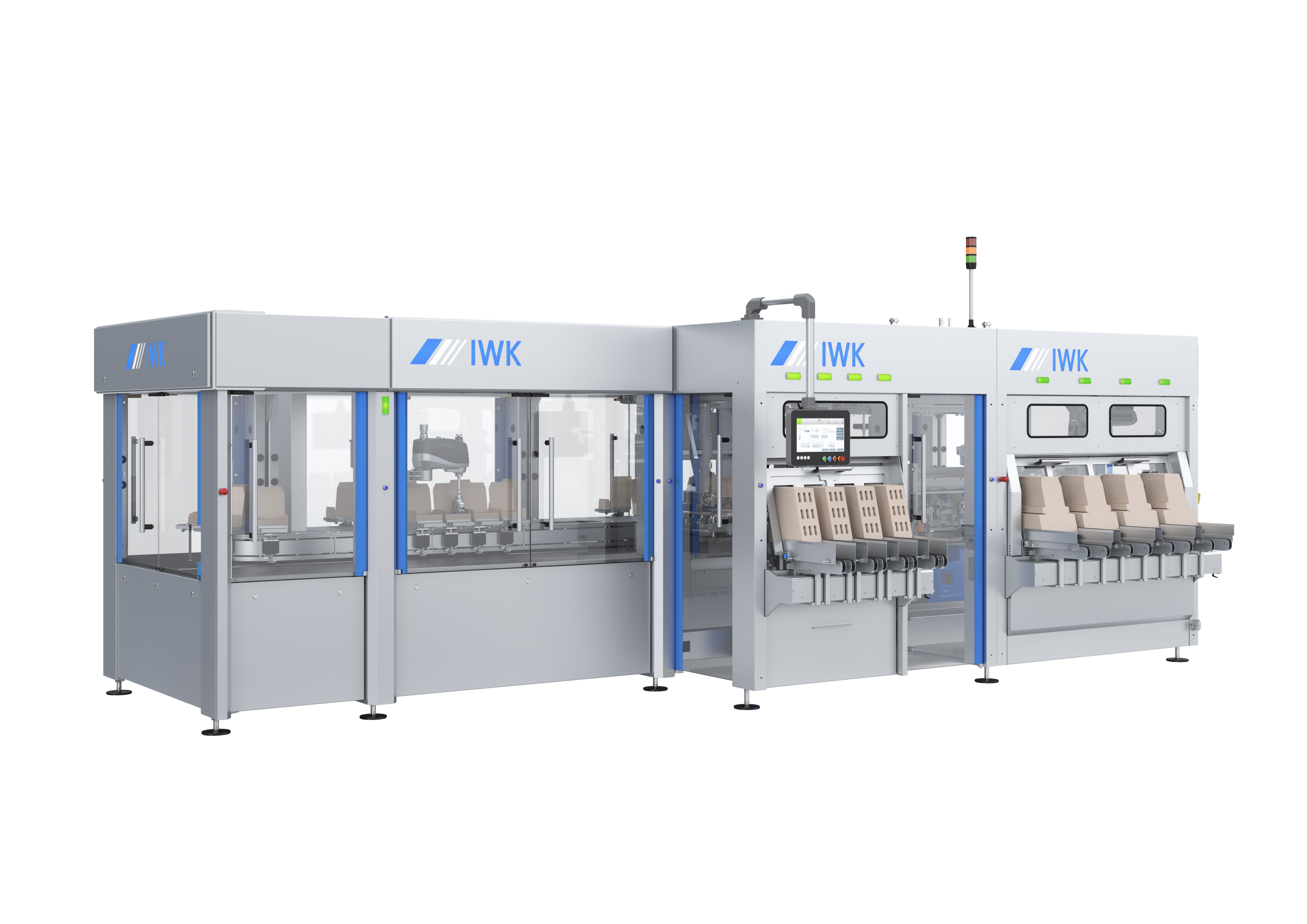 IWK Introduces Modular, High-Speed Top-load  Cartoning Line for Prefilled Syringes, Vials  & Other Fragile Pharma Containers