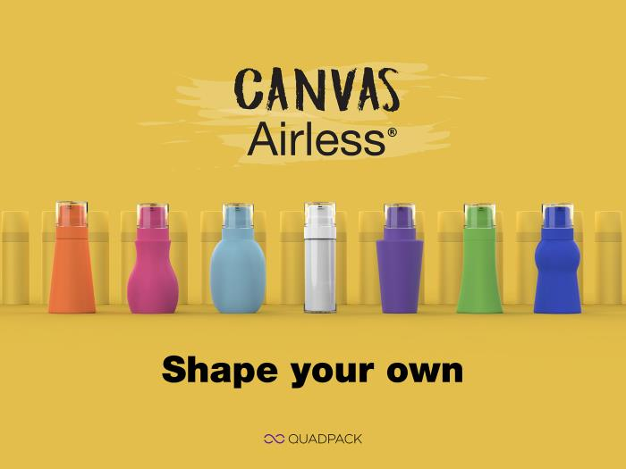 Shape your own: Canvas Airless range breaks new ground in customisation