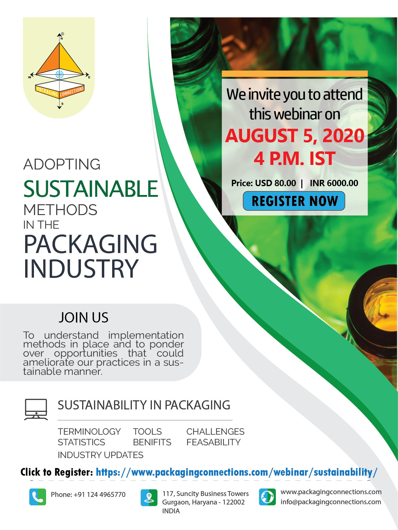 PackagingConnections Webinar on Sustainability in Packaging
