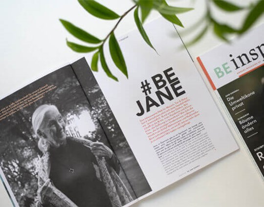 The Jane Goodall Institute Austria selects Mondi´s recycled paper brand NAUTILUS® for its newly printed annual magazine
