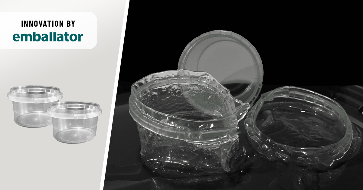Emballators first rigid water-soluble packaging to reduce plastic waste